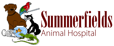 Logo for Summerfields Animal Hospital